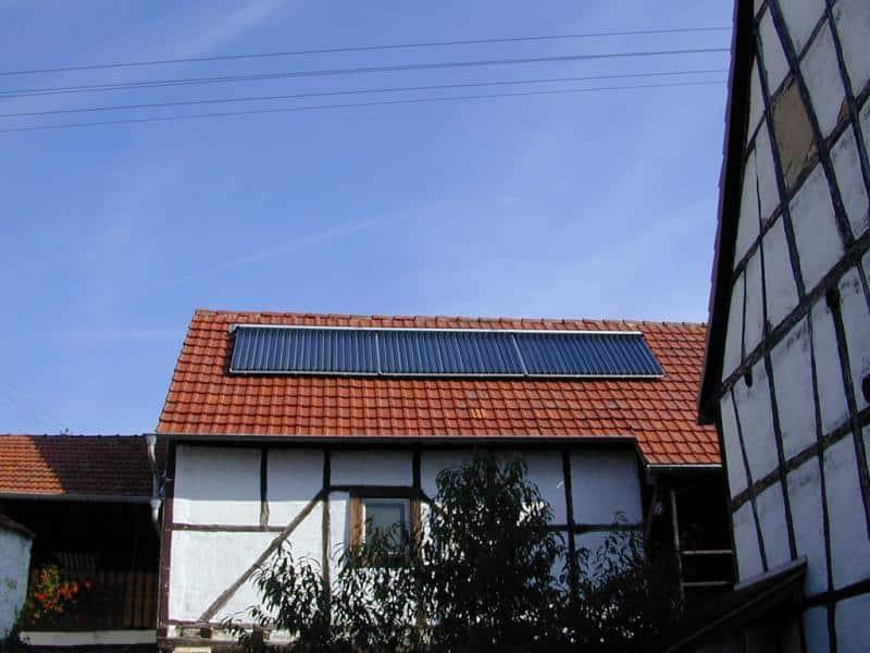 Binsfeld-Solarthermieanlage