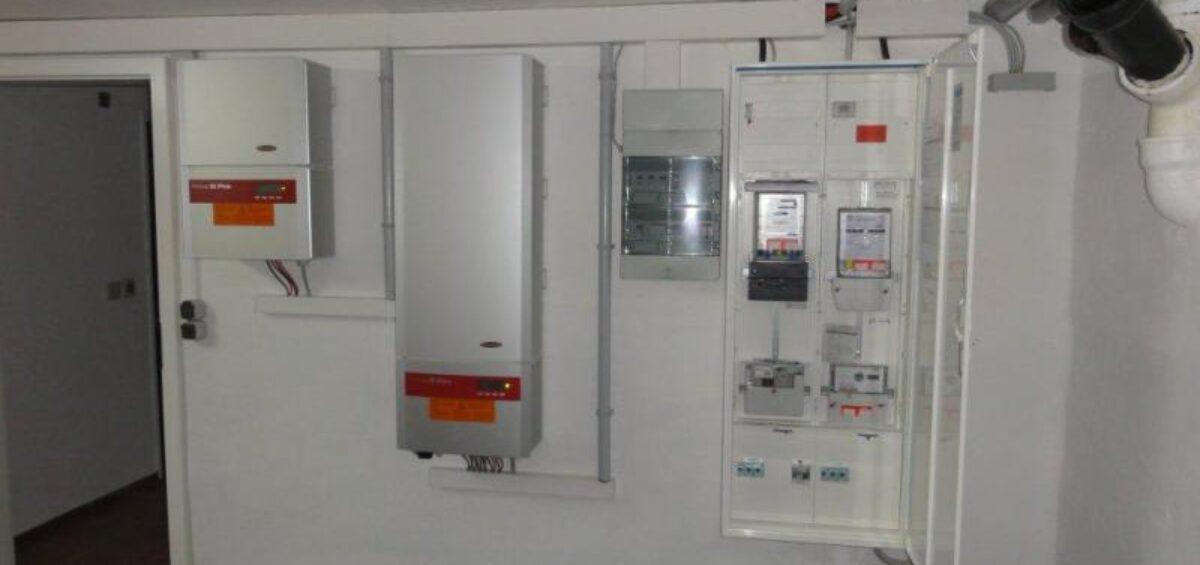 Ochsner Luft/Wasser-Wärmepumpe in Trennfeld - Schneider Solar