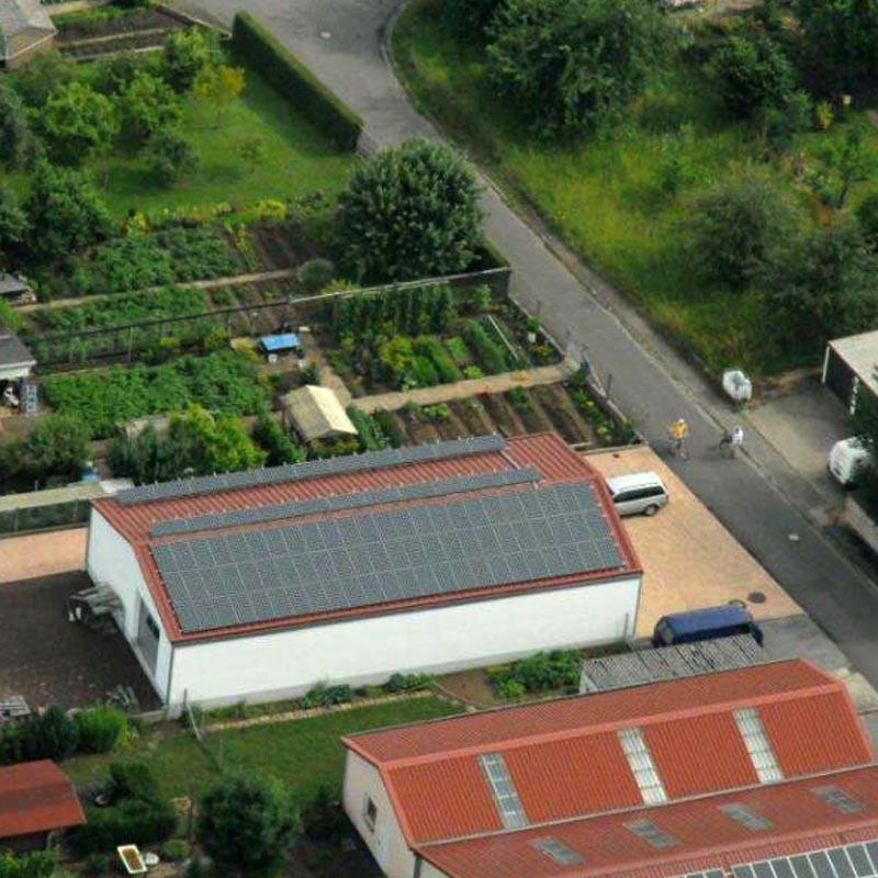 Photovoltaikanlage-Stetten
