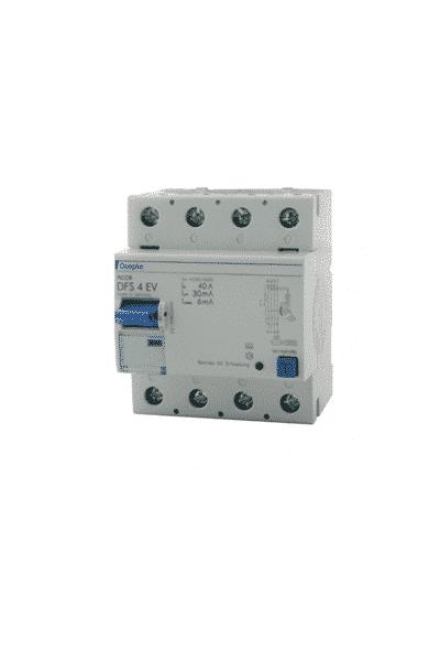 Doepke Wallbox FI-Schutzschalter DFS4 - Schneider Solar