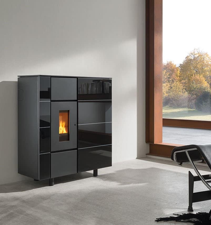 wodtke ixbase pelletofen schneider solar kluge energiekonzepte. Black Bedroom Furniture Sets. Home Design Ideas