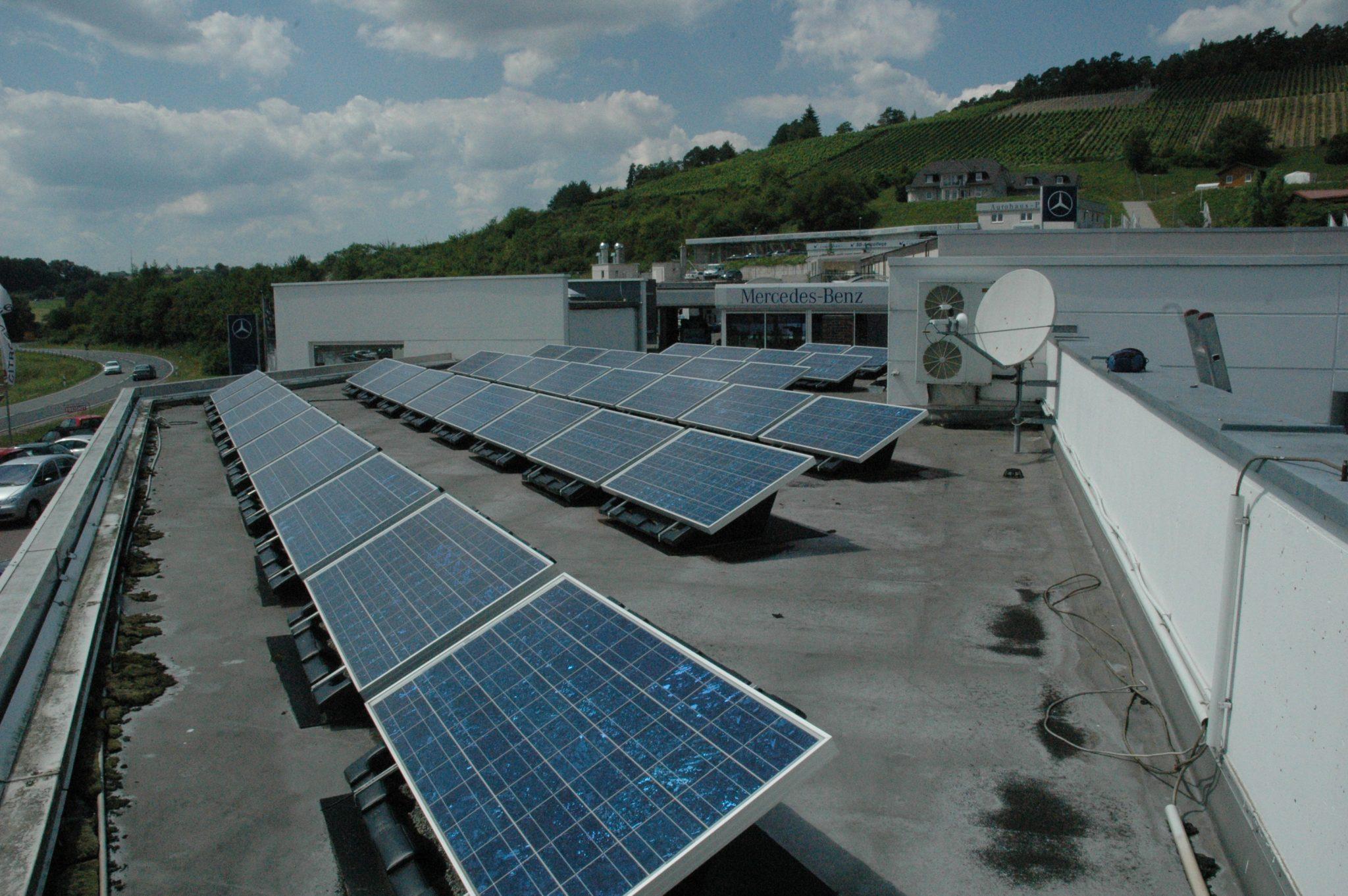 15,69 Kwp Photovoltaikanlage, Marktheidenfeld